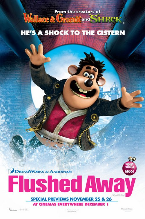 flushed away movieguide movie reviews for christians