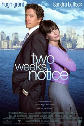 TWO WEEKS NOTICE | Movieguide | Movie Reviews for Christians
