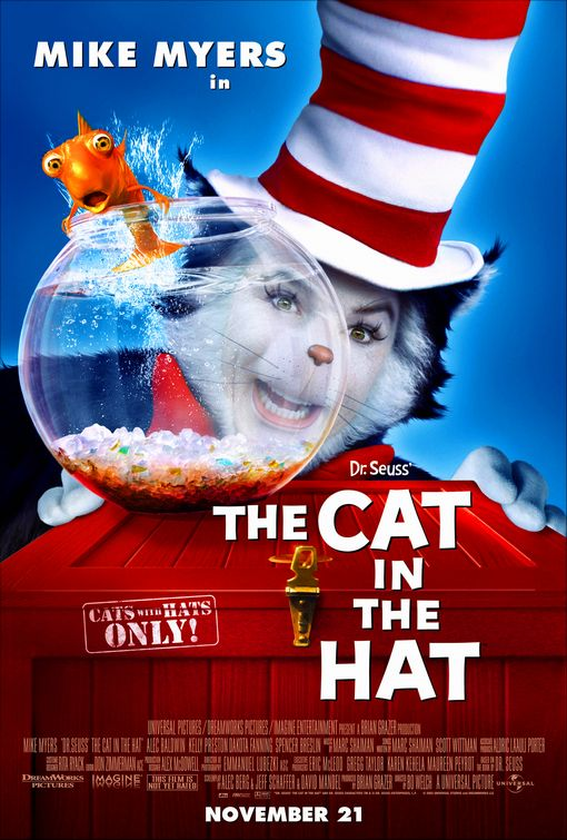 Gallery For gt Dr Seuss The Cat In Hat Dvd Cover