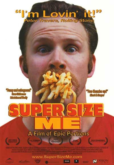 super size me review essay on a movie