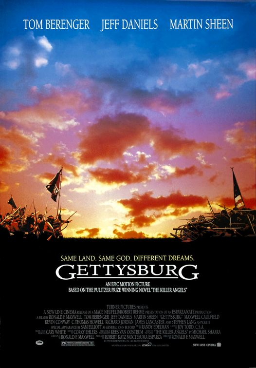 a review of gettysburg an epic war film by ronald f maxwell Watch full length gettysburg movie for free online gettysburg is a 1993 epic war film written and directed by ronald f maxwell ronald f maxwell civil war.