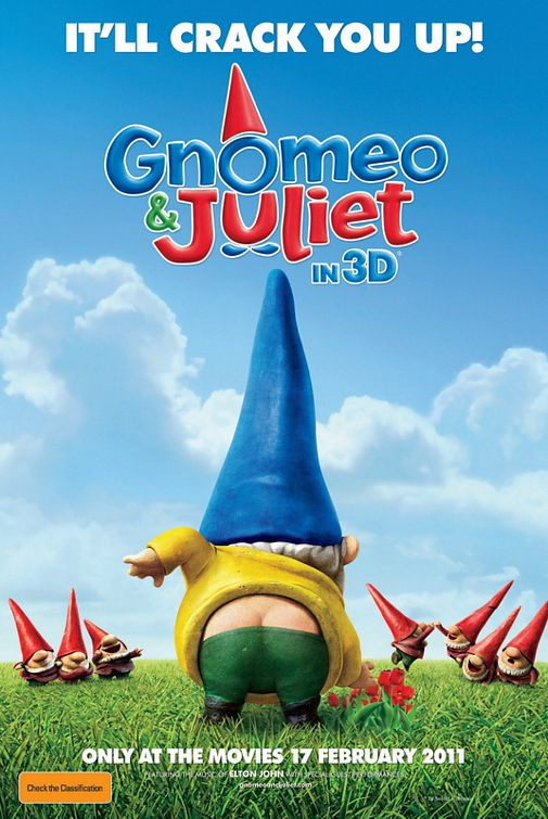 GNOMEO AND JULIET | Movieguide | Movie Reviews for Christians
