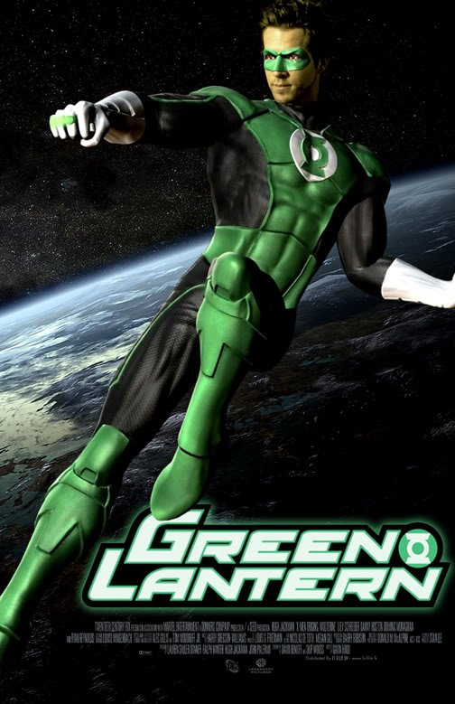 Green Lantern | Movieguide | Movie Reviews for Christians Green Lantern Movie Poster