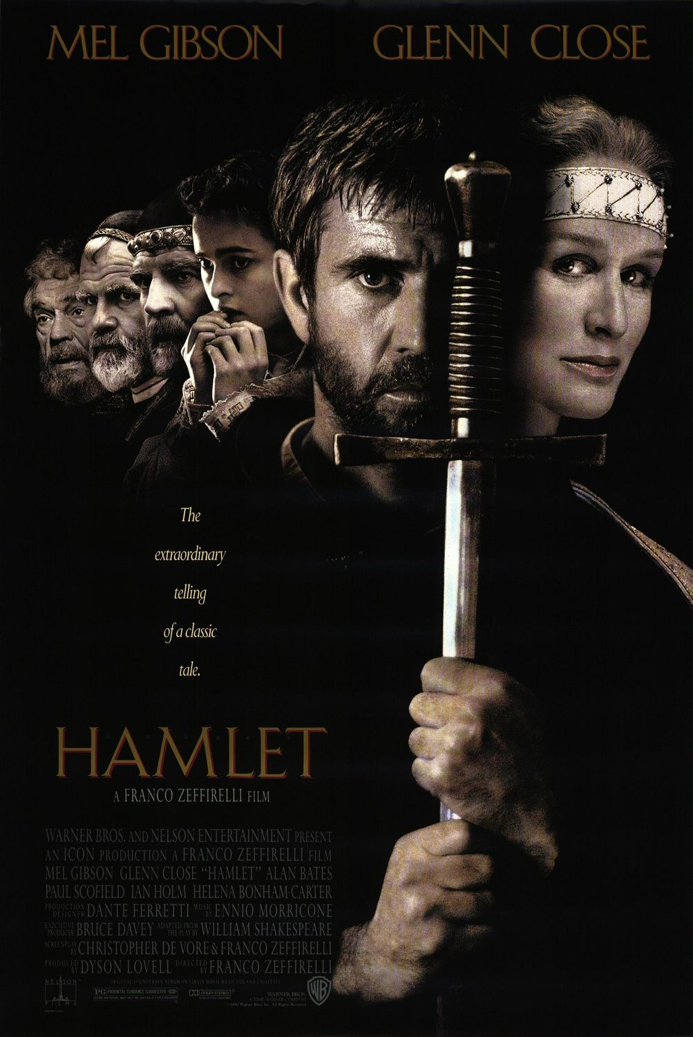 hamlet movie review Presenting the play uncut has allowed the characters to reveal even more, and we discover extra details about them which are usually lost on stage.