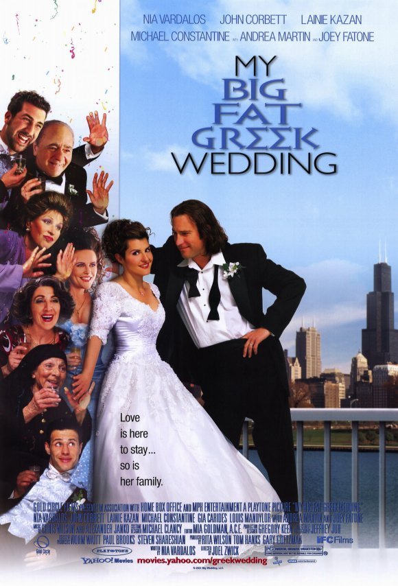 reviews for my big fat greek wedding