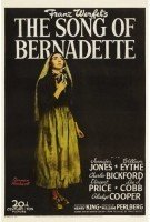 song of bernadette poster