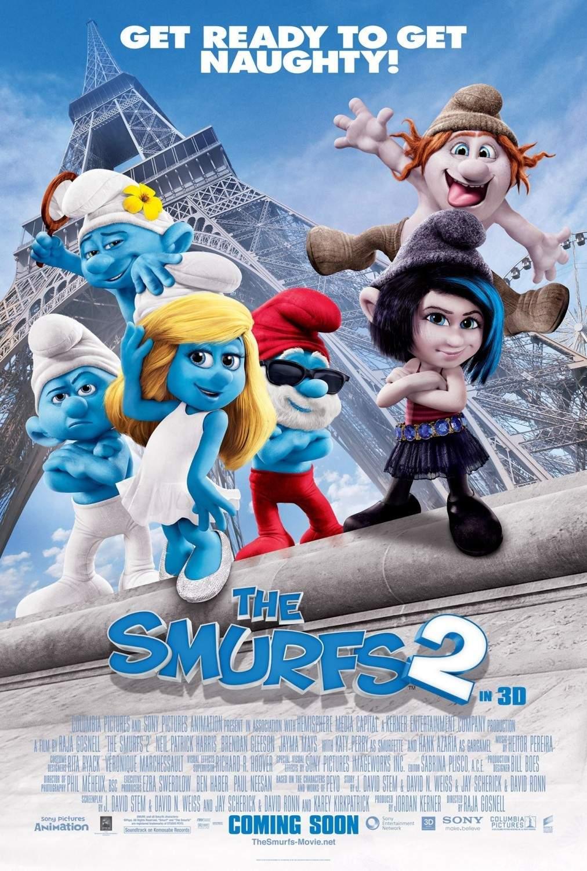 Catatan Nonton Review The Smurfs 2 2013