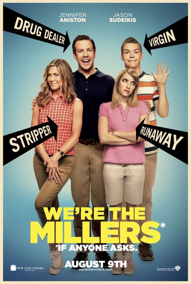 We Re The Millers Movie Poster Were The Millers 34836117