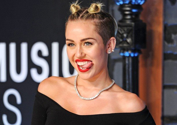 Miley Cyrus Slider