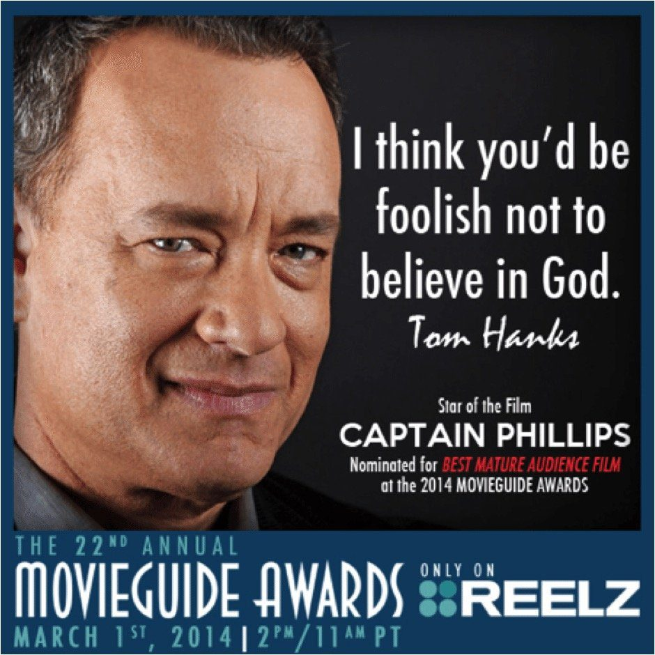 Famous Tom Hanks Movie Quotes: Help Us Share The Good News
