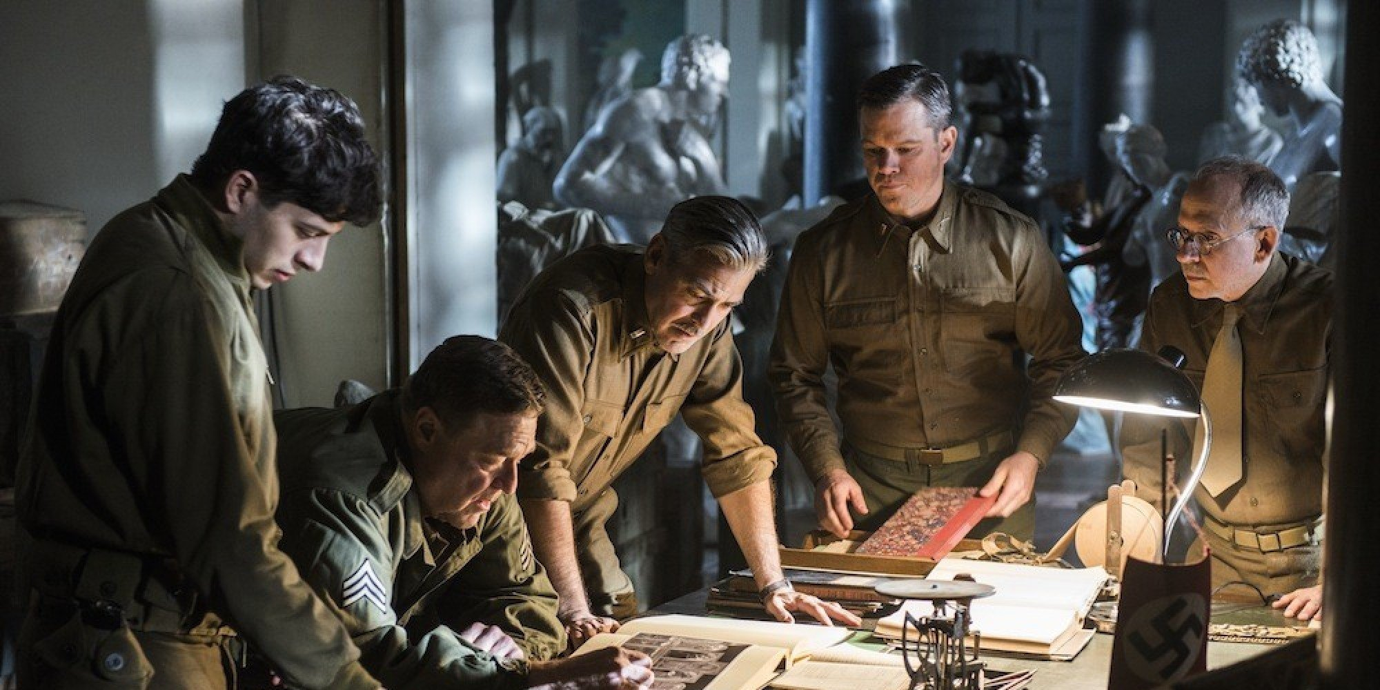THE MONUMENTS MEN  Mov...