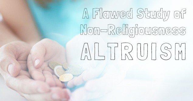 non-religiousness-altruism