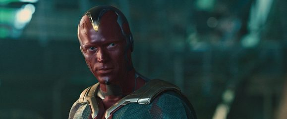 From the movie Marvel's Avengers: Age Of Ultron Vison (Paul Bettany) Ph: Film Frame ©Marvel 2015