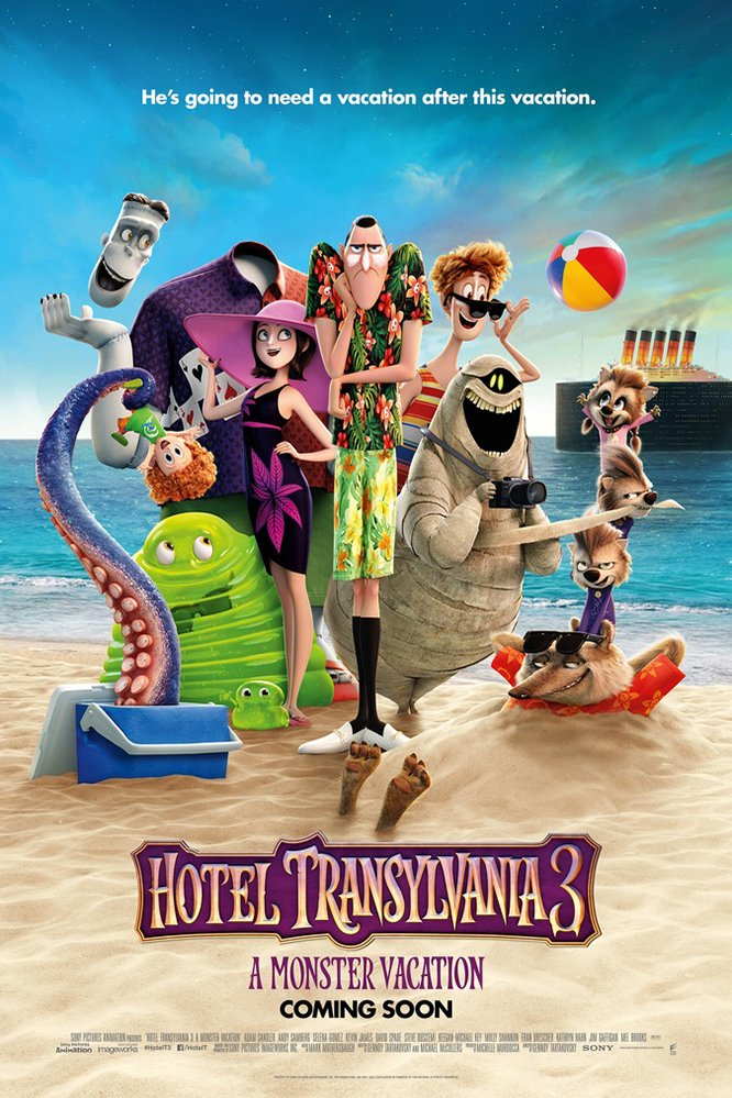 HOTEL TRANSYLVANIA 3: SUMMER VACATION | Movieguide | Movie ...